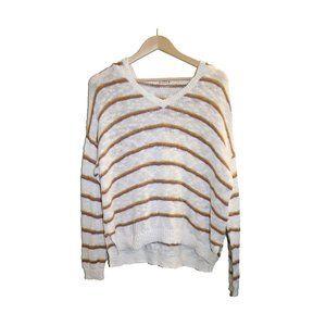 3/$45 - Roxy Striped Boho Knit Hooded Sweatshirt